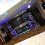PLASMA BOOTH, PROJECTOR SCREENS, MOVING HEADS, TRUSS