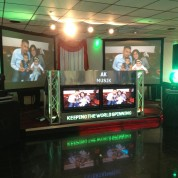 projector screens moving heads